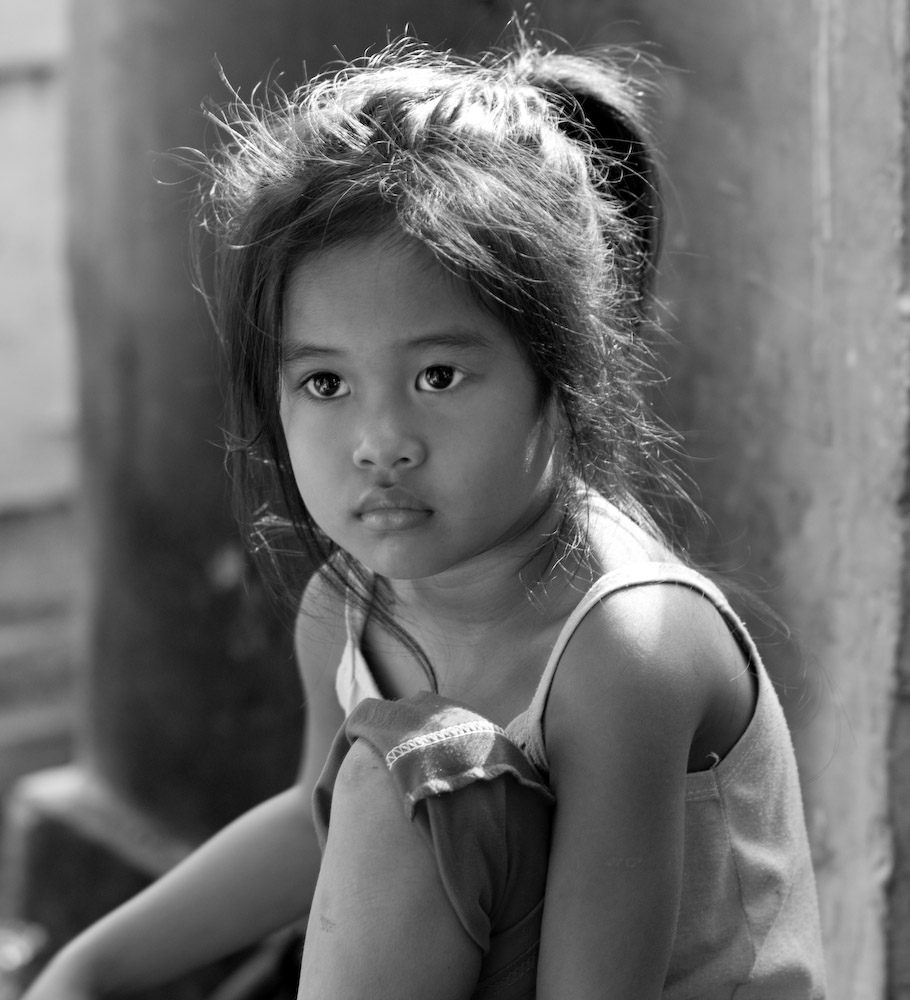 Manila Cemetery - Little Girl