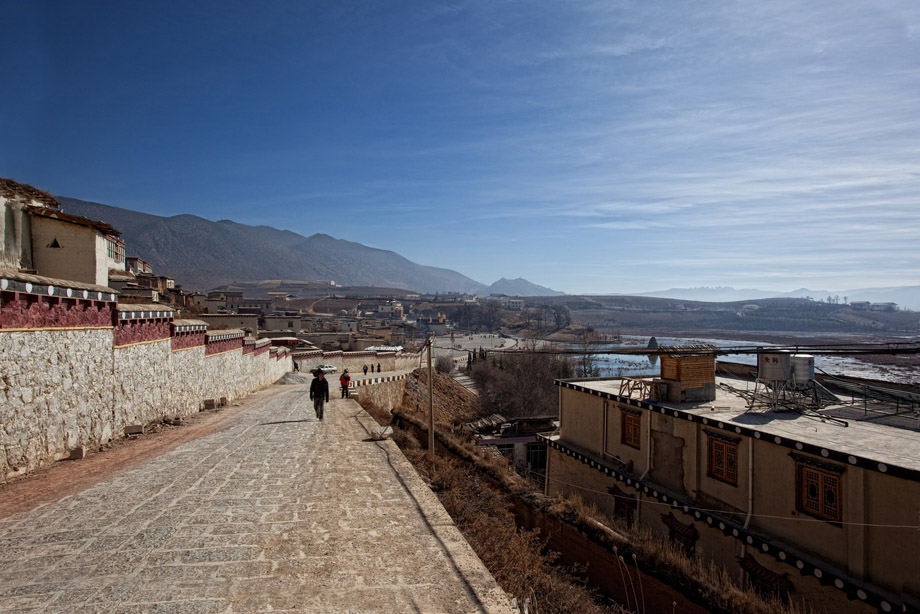 The View from the Temple - Zhongdian 2008